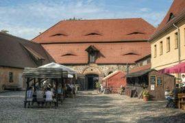Innenhof Burg Rabenstein Fläming